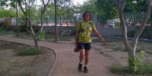 Vidya running